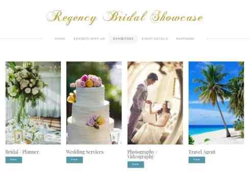 bridal showcase pusat setempat