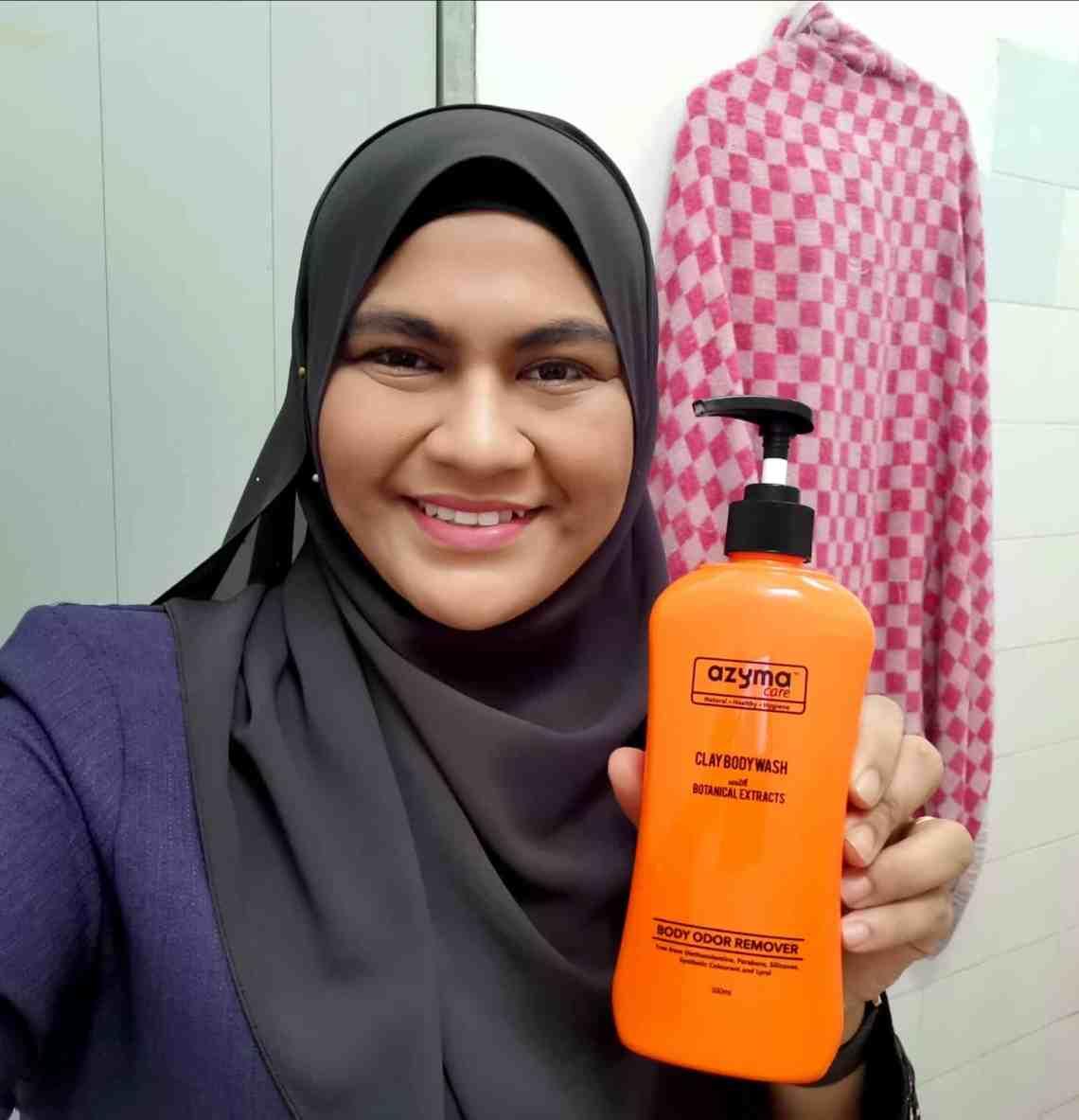 azyma care body wash untuk kulit cantik