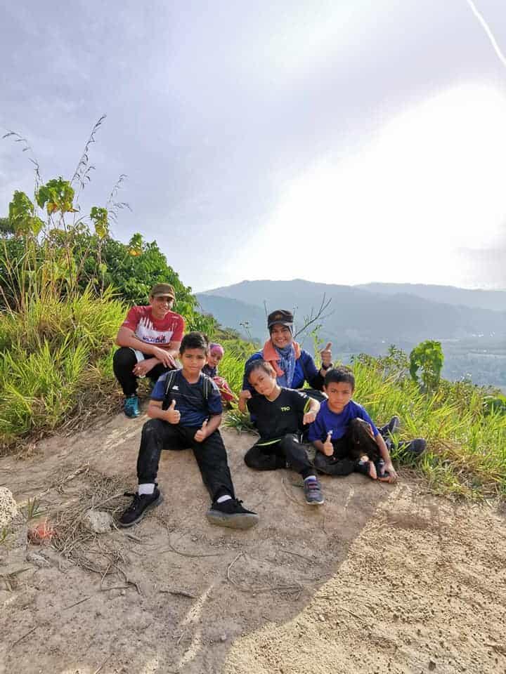 Bukit Broga tempat hiking
