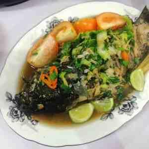 Ikan Steam Halia