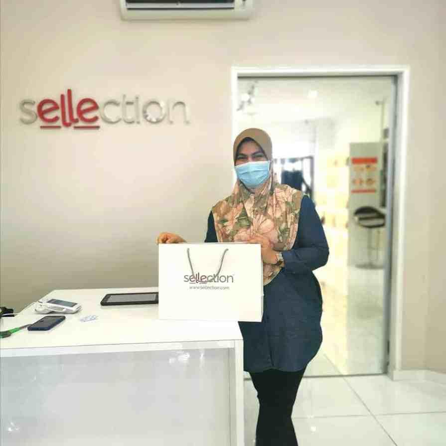 Sellection.com tempat shopping beg original beg jenama murah di Sellection.com
