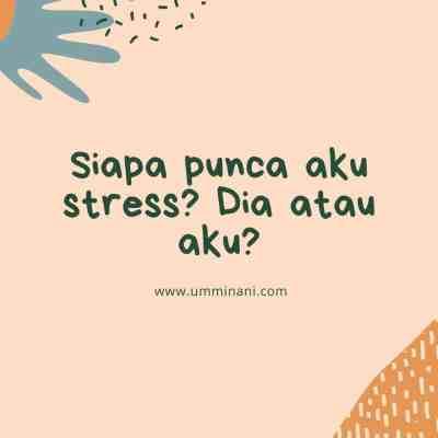 kenapa aku stress