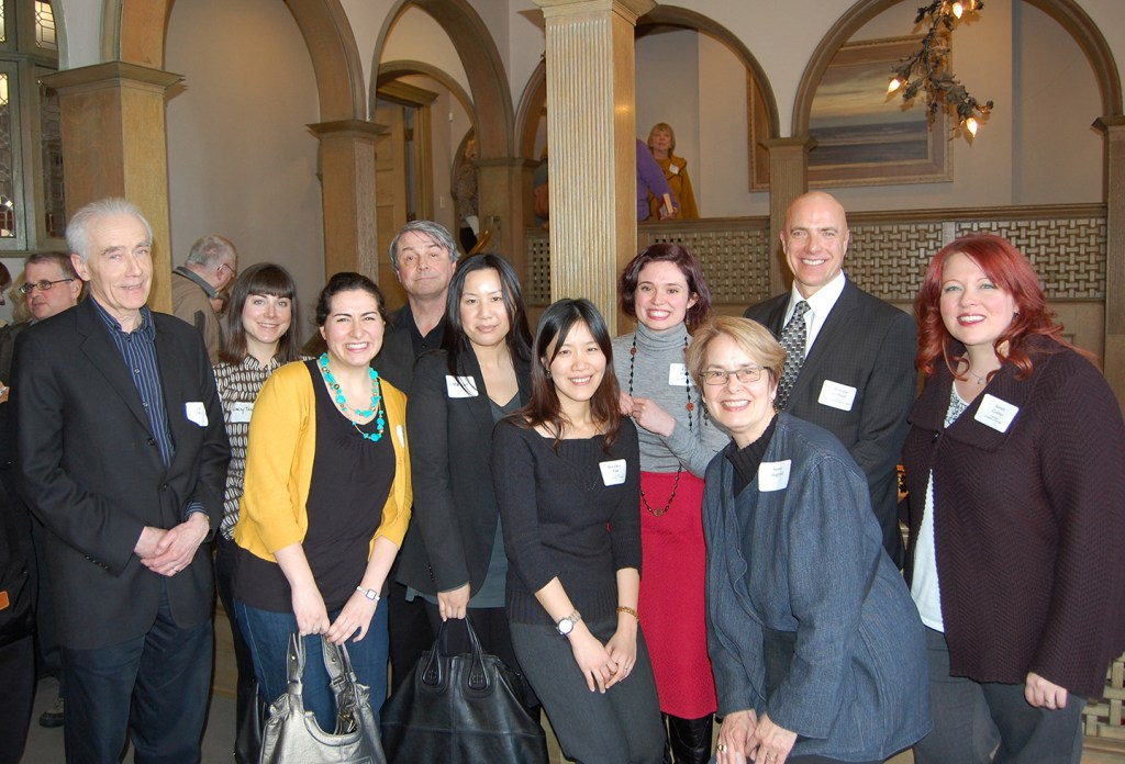 MSP students and colleagues at Detroit's Freer House