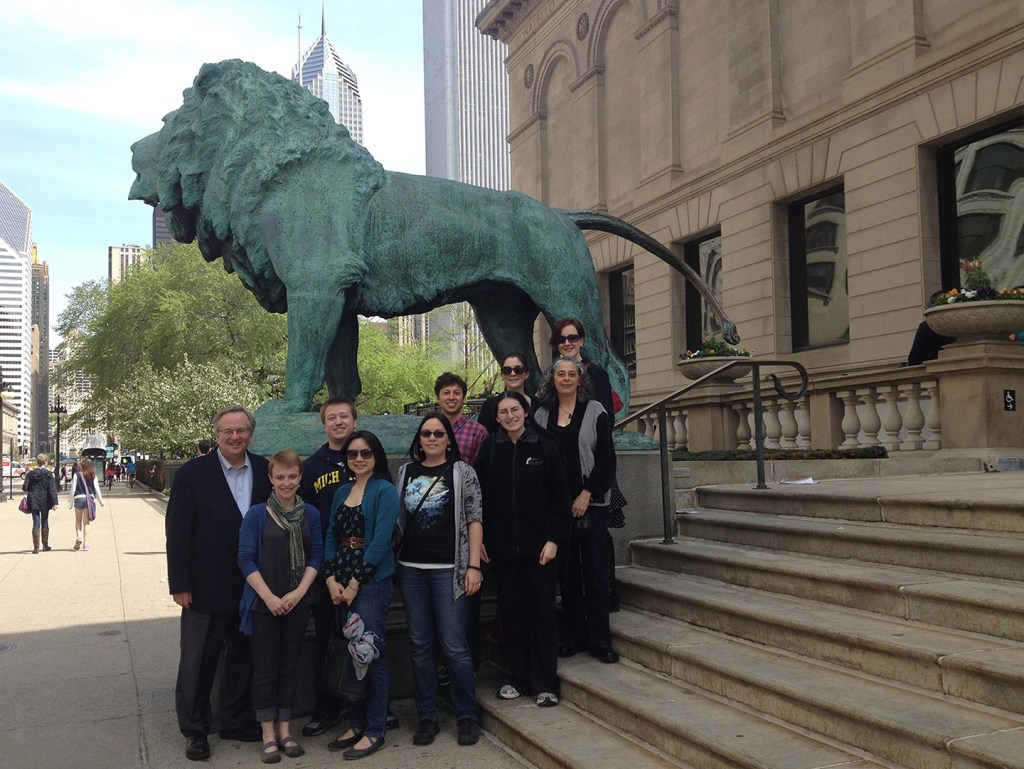 MSP13 group portrait at the Art Institute of Chicago