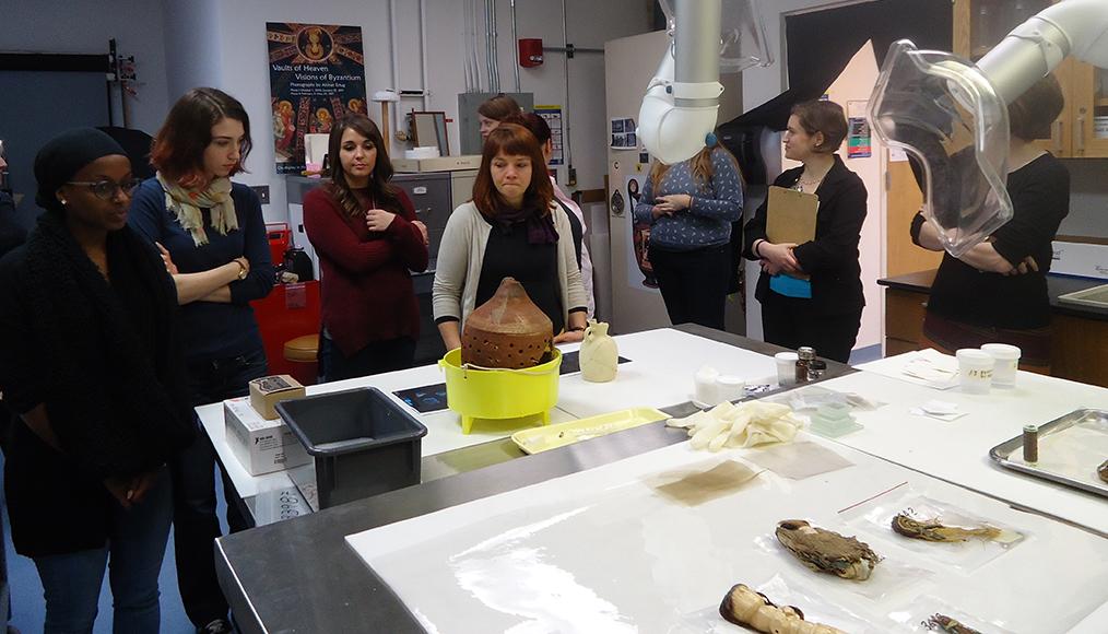 MSP15 in Kelsey conservation lab