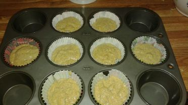 Buckwheat Cornmeal Muffins Pan