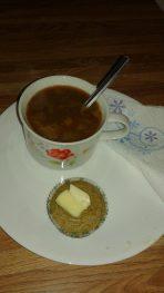 Buckwheat Cornmeal Muffins Plate