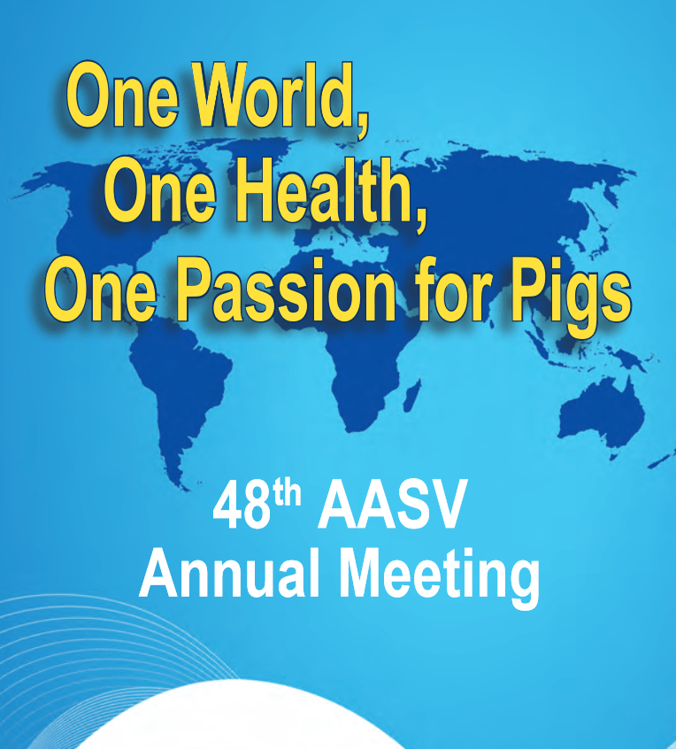 The UMN swine group will be at the 48th AASV meeting in Denver