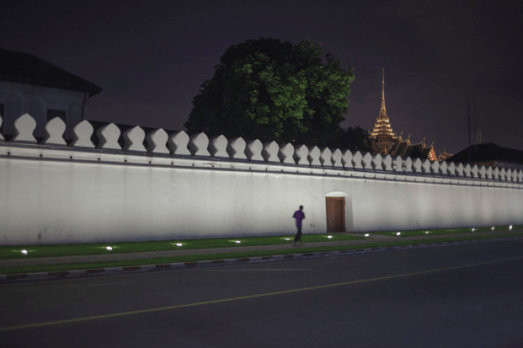 Rattanakosin wall as a top filming location in Bangkok for video production