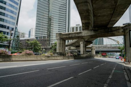 Infrastracture in Bangkok a location in Thailand for video production