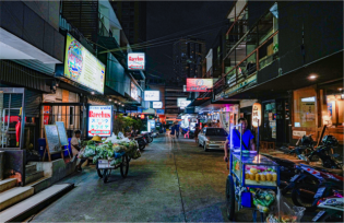 japanese town Bangkok a location in Thailand for video production