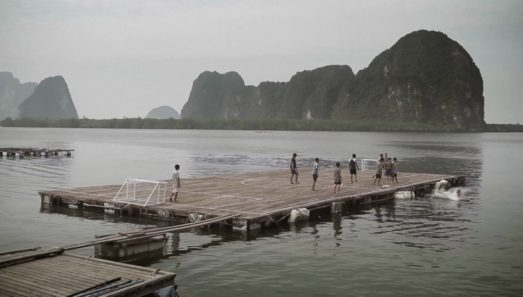TMB panyee football club floating island in Thailand