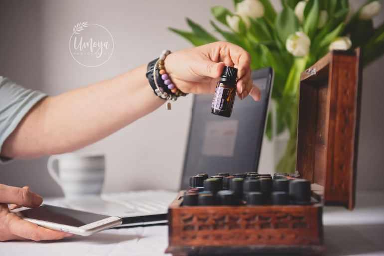 Essential oils - branding photography for Essentially Cara