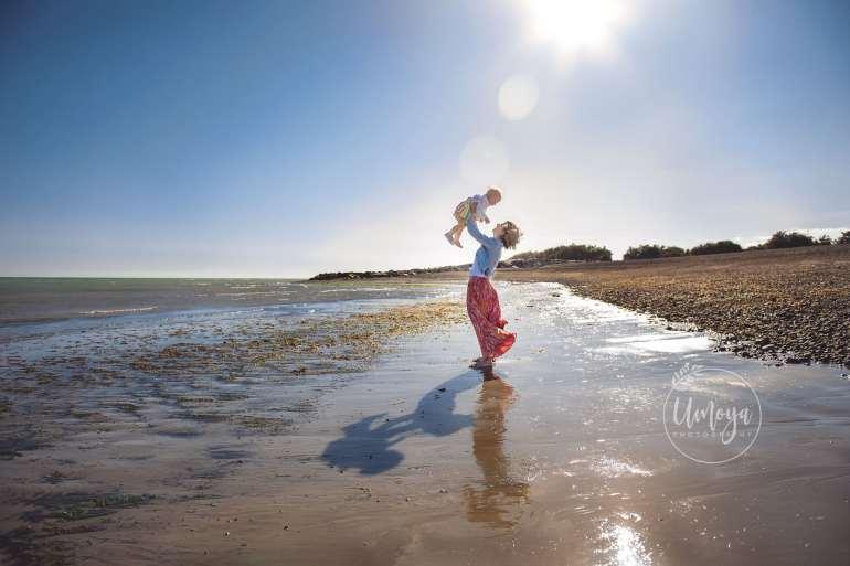 Beach family photoshoot, Sussex