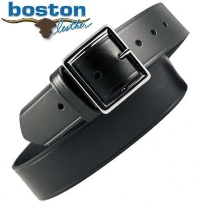 "Boston Leather 1 3/4"" Leather Belt"