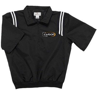 LHSOA Smitty's Baseball Umpire Half Sleeve Pullover Jacket