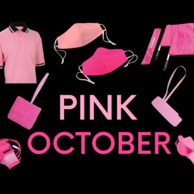 Pink October Cancer Awareness Month