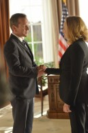 "DESIGNATED SURVIVOR - ""The Results"" - On the eve of the country voting to elect a new House of Representatives, an unexpected development forces Kirkman to consider cancelling the elections entirely. Meanwhile, news has leaked about Majid Nassar's death, and Kirkman has to handle the fallout, on ABC's ""Designated Survivor,"" WEDNESDAY, NOVEMBER 30 (10:00-11:00 p.m. EST). (ABC/Sven Frenzel) KIEFER SUTHERLAND, VIRGINIA MADSEN"
