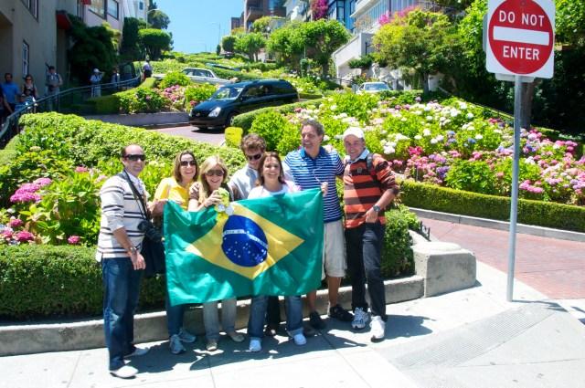 O grupo em São Francisco