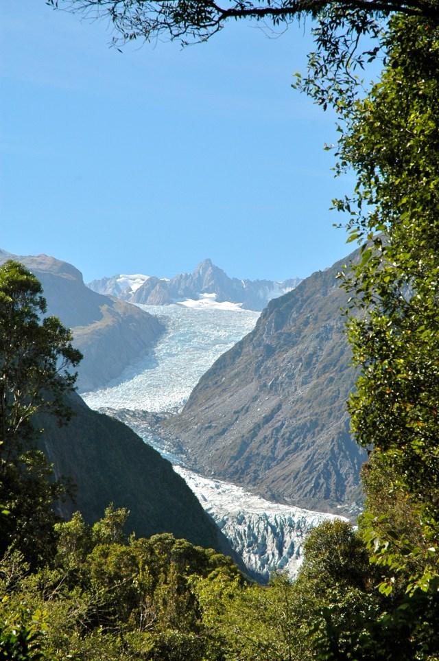 O Fox Glacier - Das montanhas às florestas.