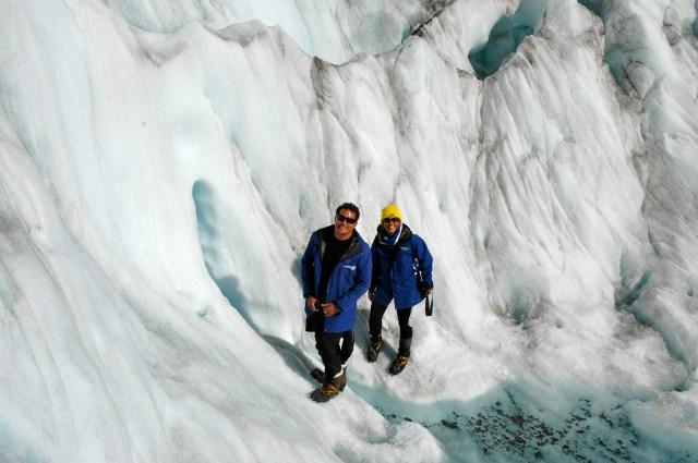 Tracking no Glaciar