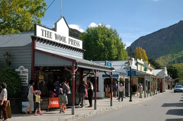Rua principal de Arrowtown