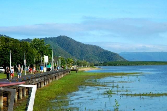 Cairns - A maior cidade da região de Queensland