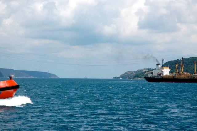 A saída para o Mar Negro