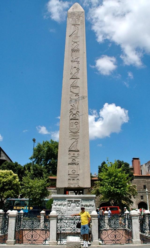 O Obelisco do Templo de Karnak