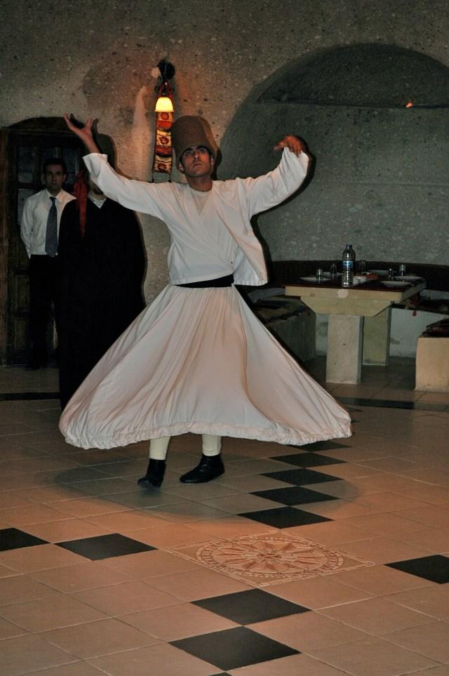 A dança dos Dervixes.