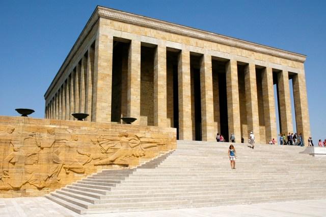 Mausoléu de Atatürk em Ancara