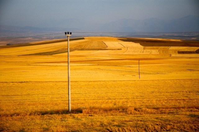 Paisagem agrícola da Anatólia Central