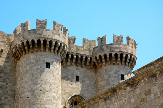 Detalhe do Palácio dos Grão-Mestres