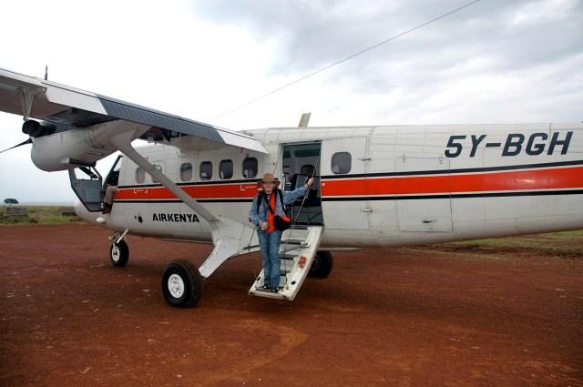 Chegando ao Masai Mara