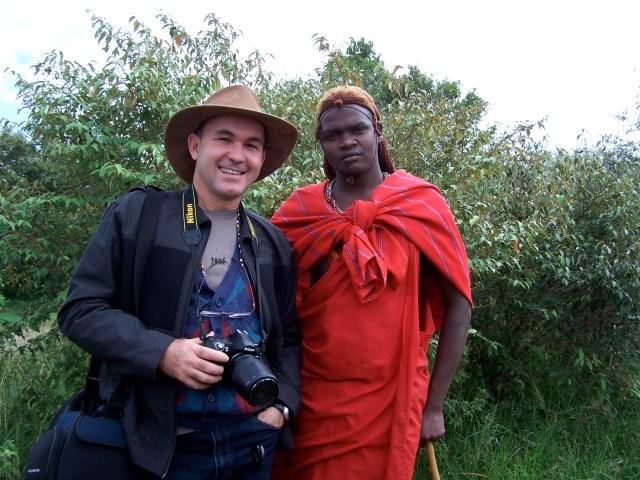 O encontro com o Guerreiro Masai