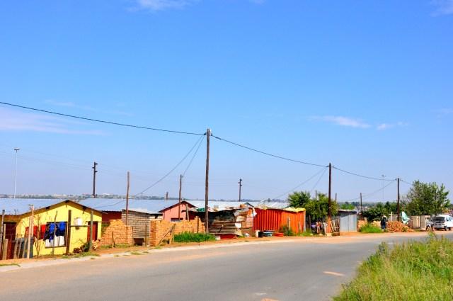 No Soweto ainda existem bolsões de pobreza