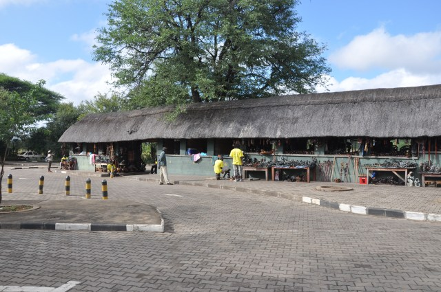 Centro de artesanato em Victoria Falls