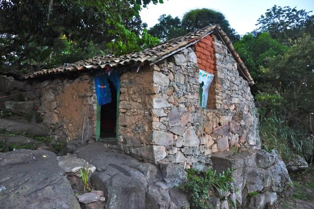 Casa de pedra - Uma característica da Vila do Igatu.