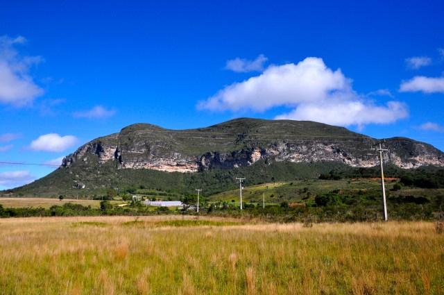 As belas paisagens nos arredores de Ibicoara.