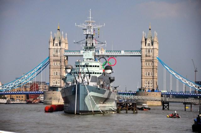 Imagens panorâmicas de Londres a partir do Rio Tâmisa.