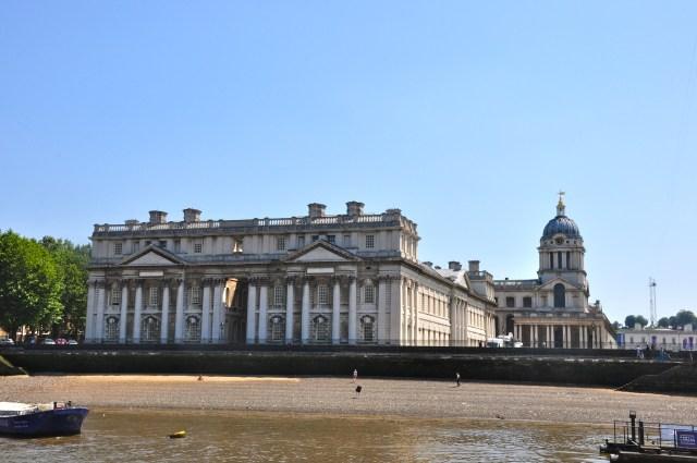 Chegando a Greenwich