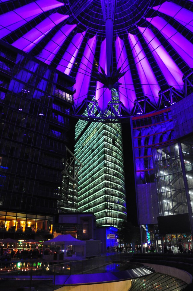 O moderno Sony Center