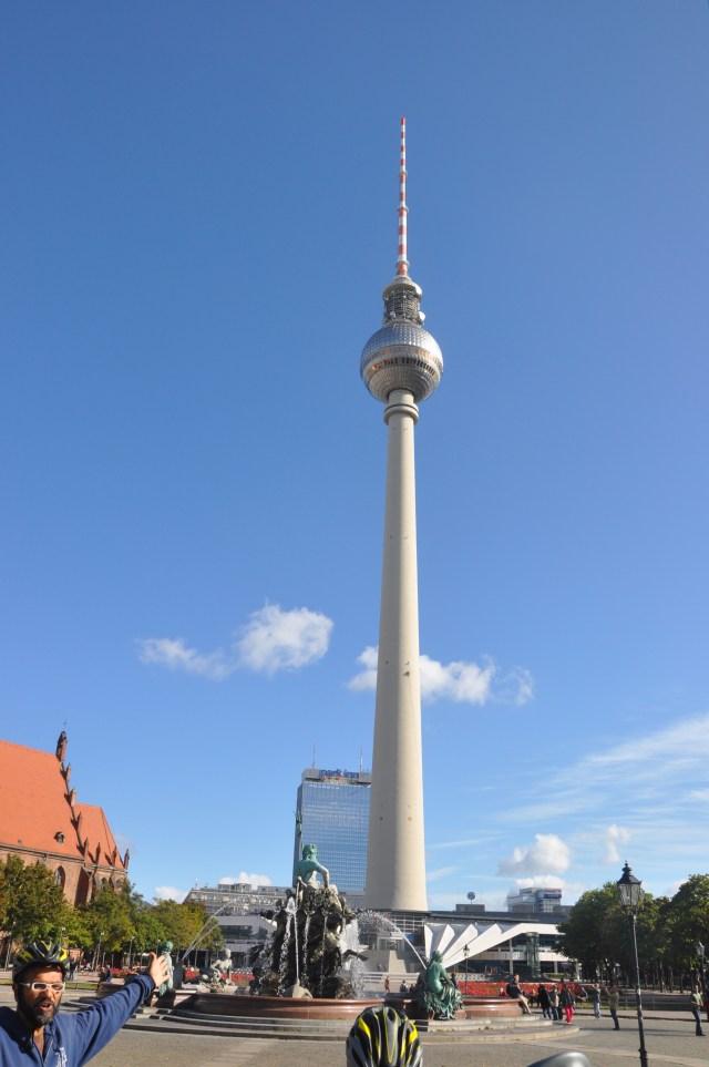A Torre da TV de Berlim