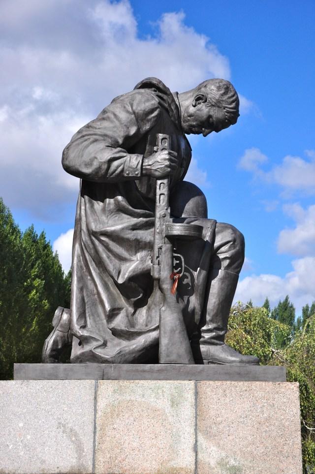 Detalhe do Memorial Soviético.