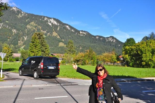 O Mercedez que nos acompanhou no tour pela Alemanha