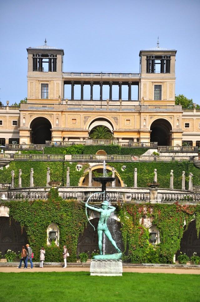 Palácio Orangerie em Potsdam.