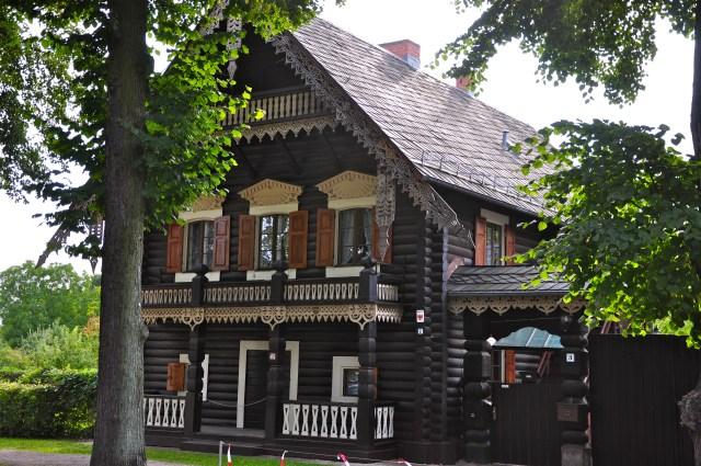 Casa típica de Alexandrowka.