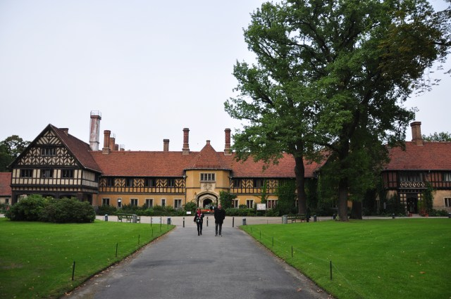 O Palácio Cecilienhof.