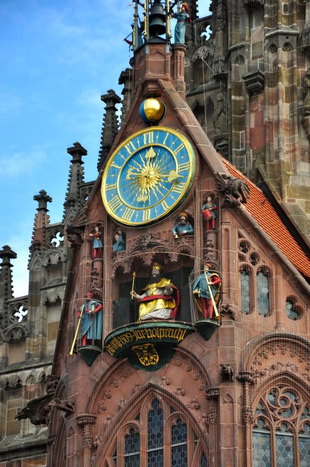Detalhes da fachada da Frauenkirche