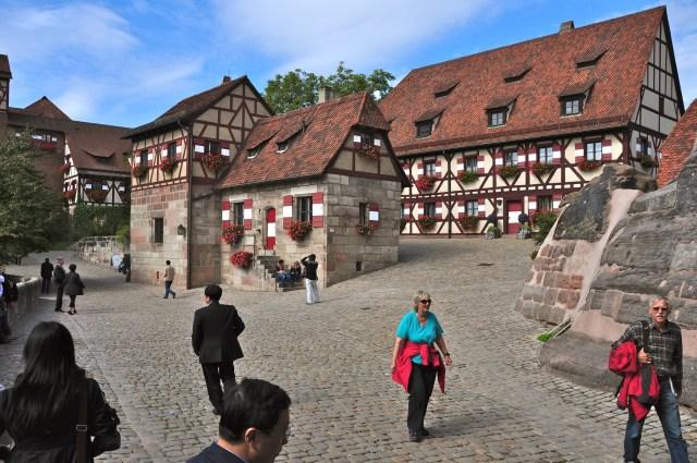 O interior do Kaiserberg